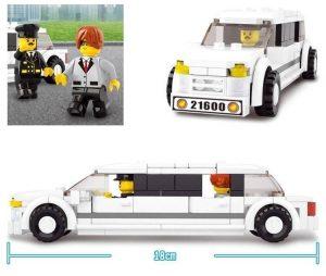 Modellauto Stretchlimousine Legobausatz