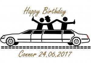 Geburtstag -Personalisiert 4-